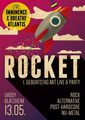 Die Rocket Party in DO feiert 1. Geburtstag