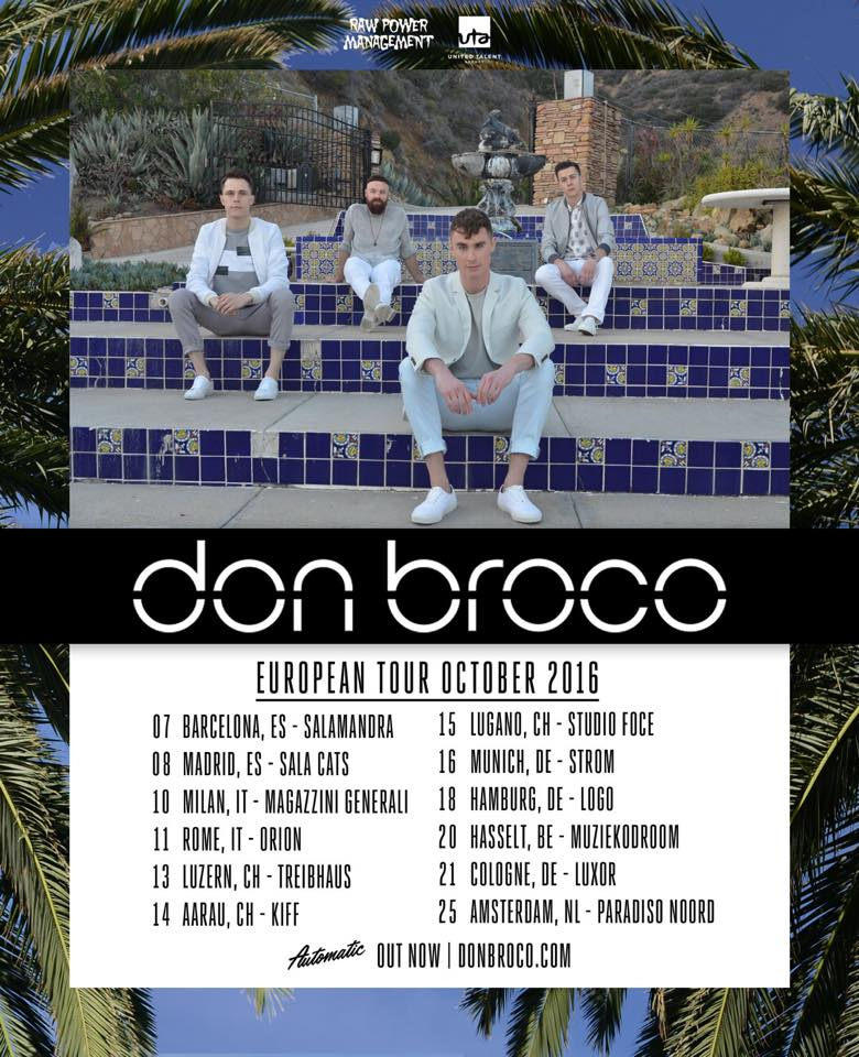 Don Broco EU-Tour