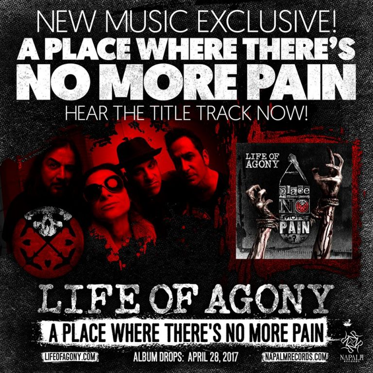 """Life Of Agony veröffentlichen neuen Song """"A Place Where There's No More Pain"""""""