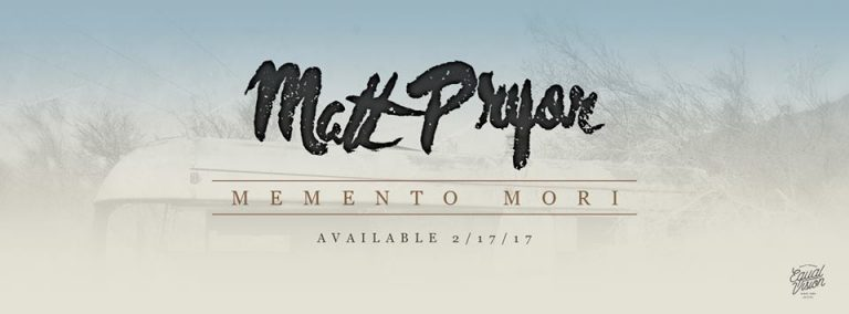"Matt Pryor (The Get Up Kids) streamt neues Album ""Memento Mori"""