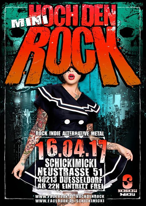 """Hoch den (Mini-)Rock"" am Ostersonntag"