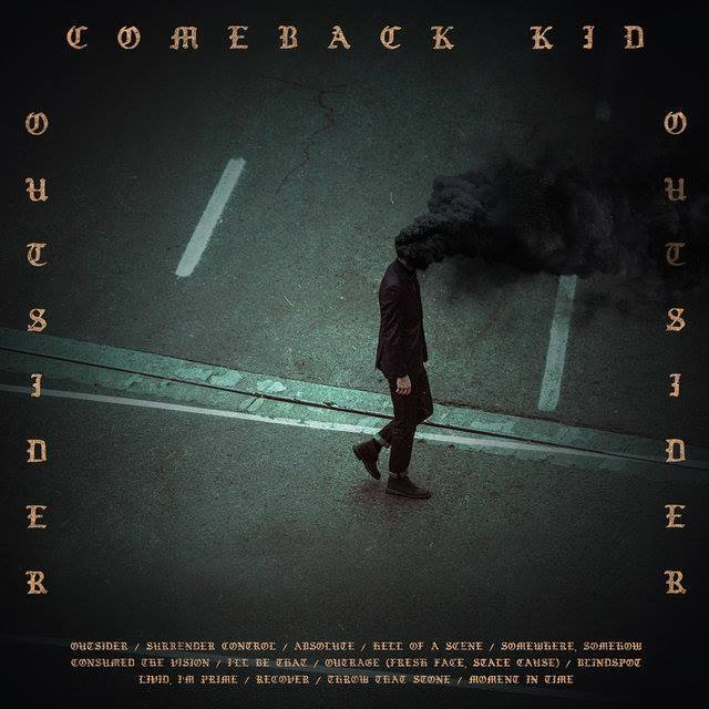 "Album-Release: Comeback Kid ""Outsider"""