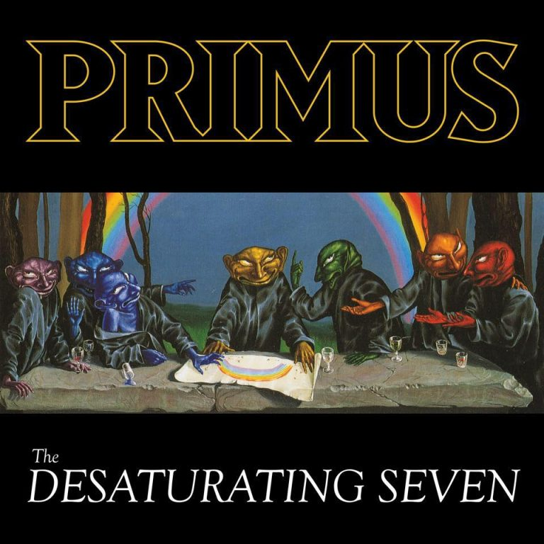 "Album-Release: Primus ""The Desaturating Seven"""