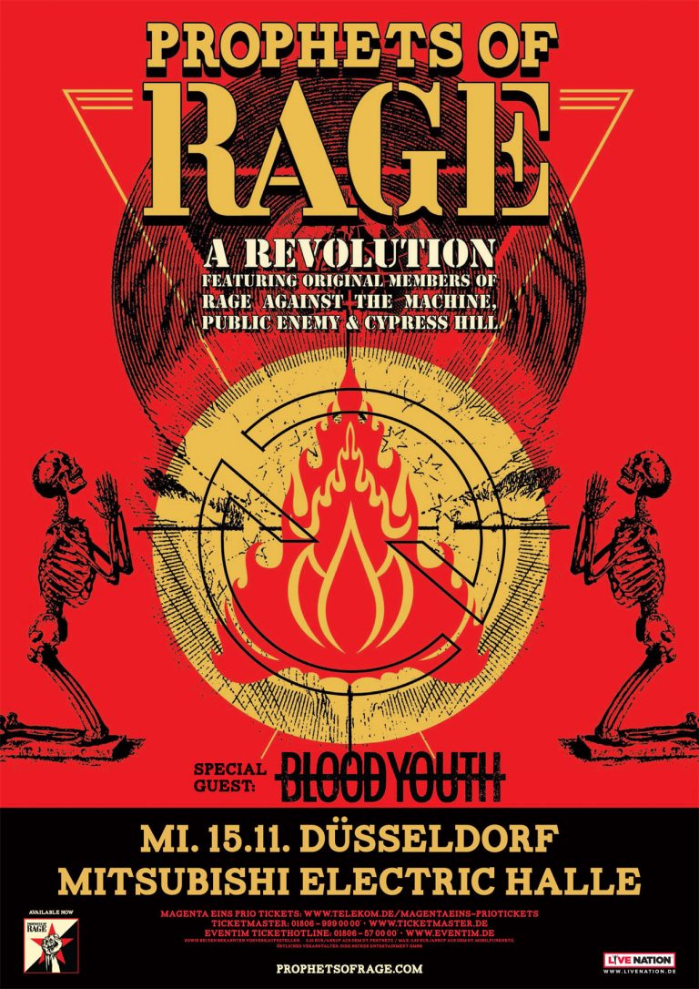 Photo-Galerie: Prophets Of Rage und Blood Youth am 15.11.2017 in Düsseldorf