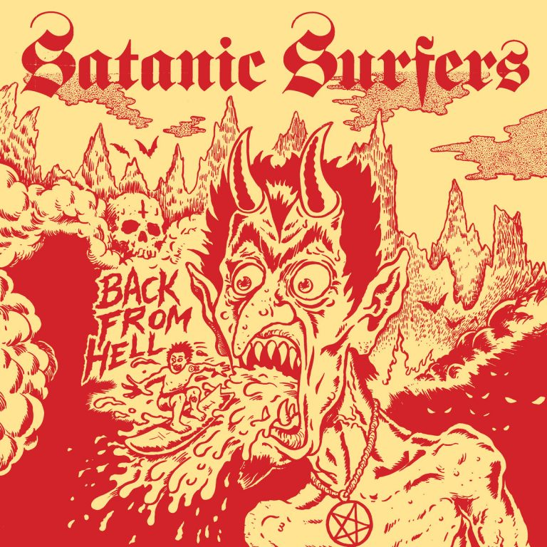 "Album-Release: Satanic Surfers ""Back From Hell"""