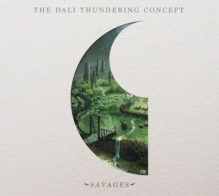 "Album-Release: The Dali Thundering Concept ""Savages"""